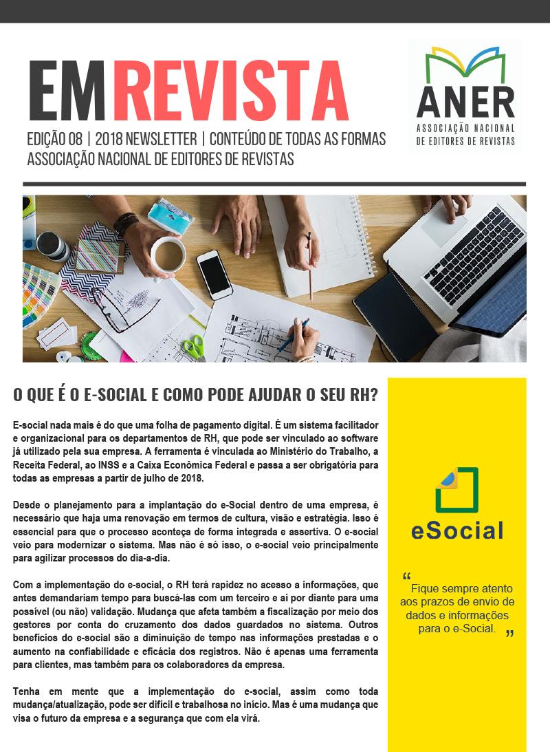 ANER EM REVISTA, EDIÇÃO No. 7, 2018