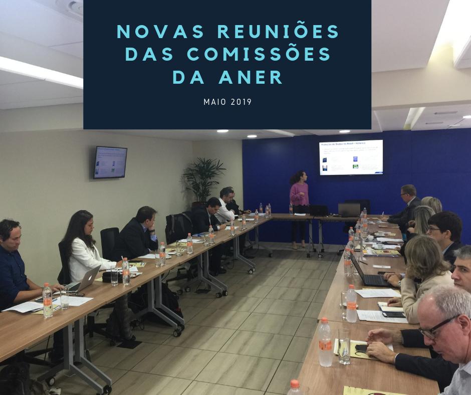 Novas reuniões das comissões da ANER (Maio 2019)
