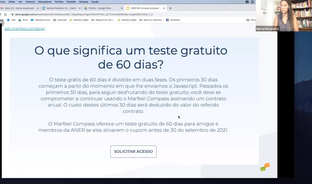 Tela oferece teste gratuito de 60 dias na Marfeel